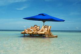Tropikalne wakacje na plaży